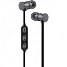 AV:link EMBT1-GRY magnetická Bluetooth sluchátka do uší, šedá