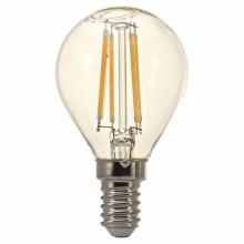 MG140440-7 Tesla - LED žárovka FILAMENT RETRO miniglobe E14, 4W, 230V,470lm,10 000h, 4000K denní bílá, 360°čirá