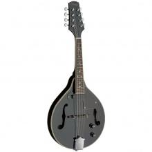 Stagg M50 E BLK, mandolína bluegrassová elektroakustická, černá