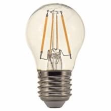 MG270440-3 Tesla - LED žárovka FILAMENT RETRO miniglobe, E27, 4W, 230V, 470lm, 25 000h, 4000K denní bílá, 360°,