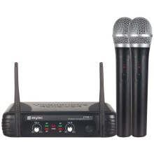 Skytec VHF mikrofonní set 2 kanálový, 2x ruční mikrofon