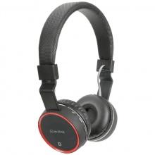 AV:link PBH-10 bezdrátová Bluetooth SD sluchátka, černá