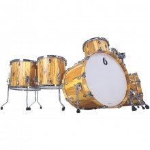 BDC Legend SE Spalted Beech Bass Drum 18x14