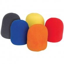QTX kryty mikrofonní barevné, sada 5 ks