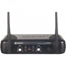 Skytec UHF mikrofonní set 2 kanálový, 2x ruční mikrofon
