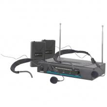 QTX VHF-HS2, bezdrátový mikrofon 2 kanálový 173,8 + 174,8 MHz