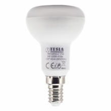 R5140540-7 Tesla - LED žárovka Reflektor R50, E14, 5W, 230V, 410lm, 25 000h, 4000K denní bílá, 120°