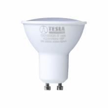 GU100560-7 Tesla - LED žárovka GU10, 5W, 230V, 410lm, 25 000h, 6000K studená bílá, 100°