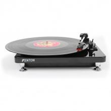 Fenton RP120 gramofon s USB, černý klavírní lak