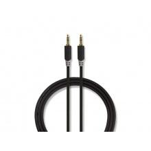 Kabel 1x JACK 3.5 mm konektor - 1x JACK 3.5 mm konektor 1m NEDIS