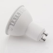 GU100540-PACK2 Tesla - LED žárovka GU10, 5W, 230V, 410lm, 25 000h, 4000K denní bílá, 100° 2ks
