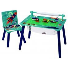 L-W Toys Multifunkční hrací stůl Vesmír
