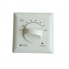 TOA AT-4200B-EB Regulátor hlasitosti 200W @ 100V, pro 2-/3-/4drátový rozvod, vč. mont. krabice