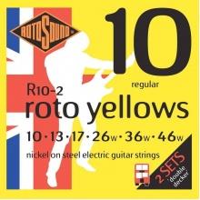 Rotosound R10-2 Roto Yellows 2-Pack