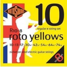 Rotosound R10 8 Roto Yellows