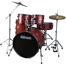 DDRUM D2 Player Red Pinstripe