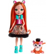 MATTEL Enchantimals Tanzie Tiger & Tuft