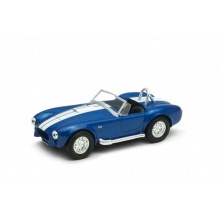 Welly 1965 Shelby Cobra 427 S/C model 1:34 modrá