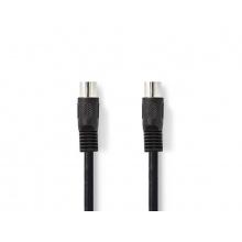 Kabel 1x DIN konektor - 1x DIN konektor 3m NEDIS