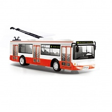 Trolejbus, který hlásí zastávky česky, 28 cm (od 3 let)