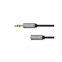 Kabel 1x JACK 3.5 mm konektor - 1x JACK 3.5 mm zdířka 1,8m KRUGER & MATZ