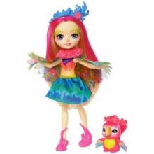 MATTEL Enchantimals Peeki Parrot & Sheeny