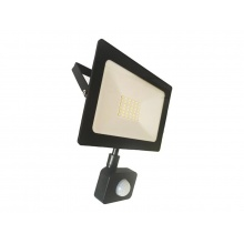 LED venkovní reflektor, 30W, 2400lm, AC 230V, RETLUX RSL 247 se senzorem