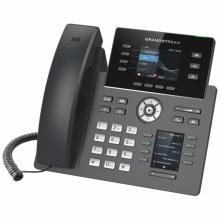 GRP-2614 Grandstream - IP telefon, barevný LCD, 4x SIP účty, 2x RJ45 Gb, POE, 4x prog. tl., 24x BLF, WIFI