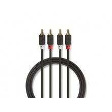 Kabel 2x CINCH konektor - 2x CINCH konektor 1m NEDIS
