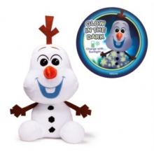 DINO Ledové království 2: Svítící plyšový Olaf 25 cm
