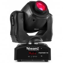 BeamZ LED otočná hlavice Panther 70, 1x 70W LED, IR, DMX