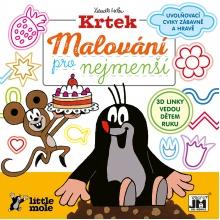 omalovánka Krtek - Malování pro nejmenší (od 3 let)