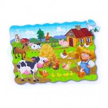 Puzzle farma 208 ks, 90x64 cm (od 4 let)
