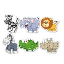 Puzzle velké zvířata z džungle (od 3 let)
