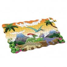 Puzzle dinosauři 208 ks, 90x64 cm (od 4 let)