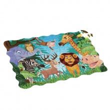 Puzzle zvířata v džungli 208 ks, 90x64 cm (od 4 let)
