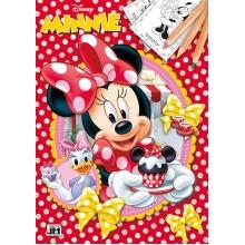 omalovánka A4 Minnie (od 3 let)