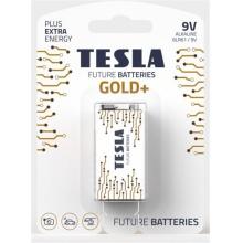 1099137205 Tesla - GOLD Alkaline baterie 9V (6LR61, 9V, blister) 1 ks