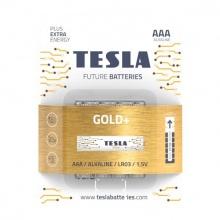 1099137207 Tesla - GOLD Alkaline baterie AAA (LR03, mikrotužková, blister) 4 ks