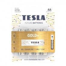 1099137206 Tesla - GOLD Alkaline baterie AA (LR06, tužková, blister) 4 ks