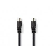 Kabel 1x DIN konektor - 1x DIN konektor 2m NEDIS