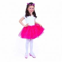 Dětský kostým tutu sukně s čelenkou (od 3 let)