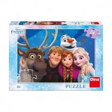 puzzle 24 dílků Selfie FROZEN - Ledové království (od 3 let)