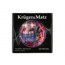 Sada montážní KRUGER & MATZ KM0011 pro zesilovače