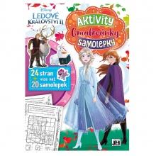 Cvičebnice se samolepkami A4 FROZEN 2 - Ledové království (od 3 let)