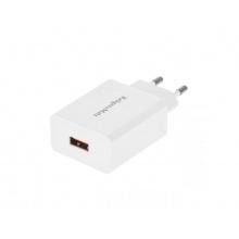 Adaptér síťový KRUGER & MATZ KM0132 s funkcí Quick Charge 3.0