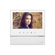 CDV-70HM2 bílý, handsfree videotelefon s pamětí, 7'' LCD, 2 video vstupy, dotyková tlačítka, Commax