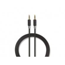 Kabel 2x JACK 3.5 mm konektor - 1x JACK 3.5 mm konektor 0.5m NEDIS