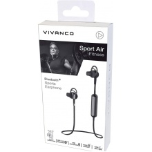 Vivanco Sport Fitness Air BT black/metalic