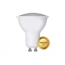 Žárovka LED GU10 6W bílá přírodní Geti, SAMSUNG čip